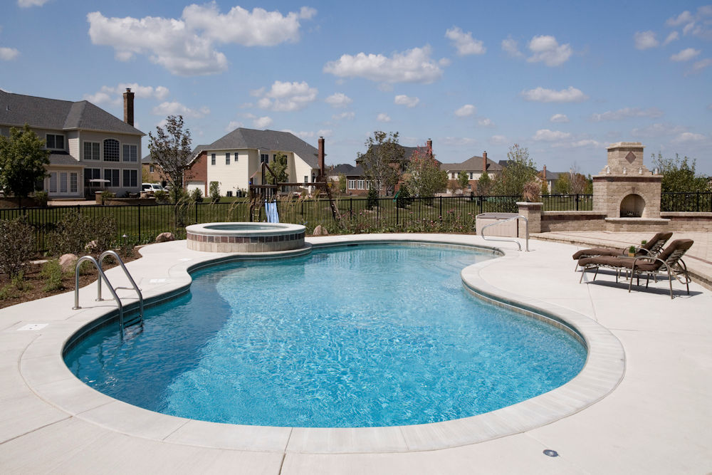 South Barrington IL Custom Swimming Pool 001
