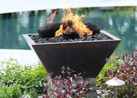 pool fire features
