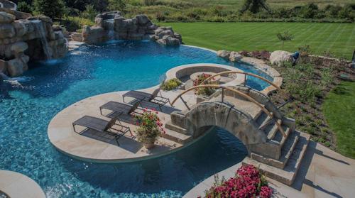 Chicago Inground Pool Design